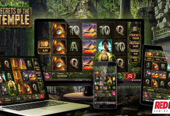 Get ready for adventure with Red Rake Gaming's new online slot Secrets of the Temple